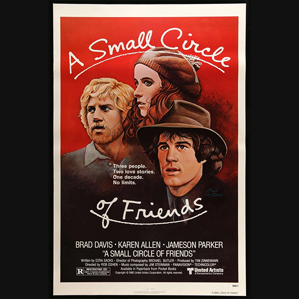 0021 A Small Circle of Friends (1980)