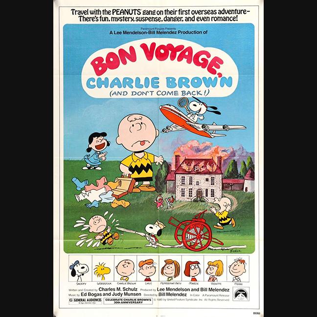 0052 Bon Voyage, Charlie Brown (1980)